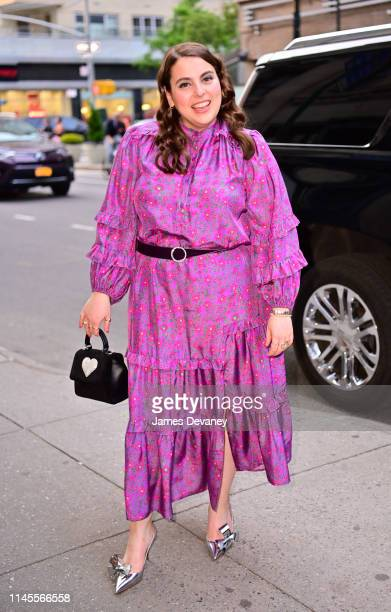 Beanie Feldstein arrives to Times Talks presents Booksmart Screening and Talk at Iris and B Gerald Cantor Film Center at NYU on May 22 2019 in New...