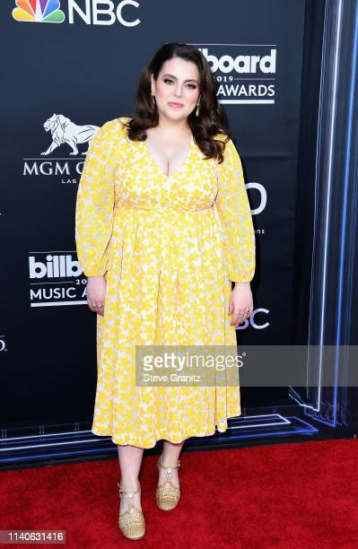 Beanie Feldstein attends the 2019 Billboard Music Awards at MGM Grand Garden Arena on May 1 2019 in Las Vegas Nevada