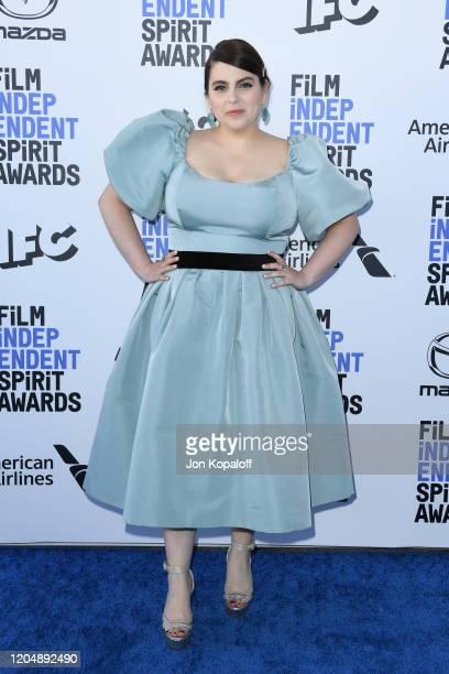 Beanie Feldstein attends the 2020 Film Independent Spirit Awards on February 08 2020 in Santa Monica California