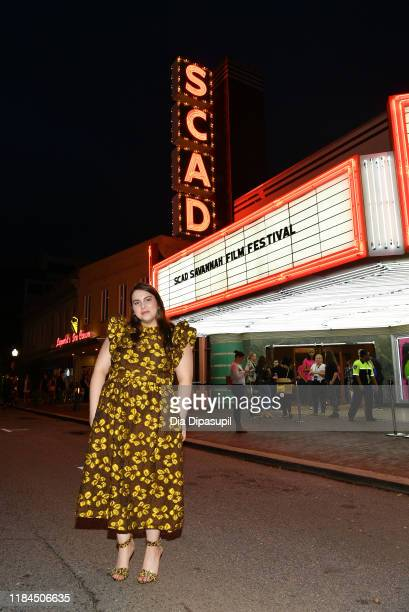 Beanie Feldstein attends the 22nd SCAD Savannah Film Festival on October 30 2019 at Trustees Theater in Savannah Georgia