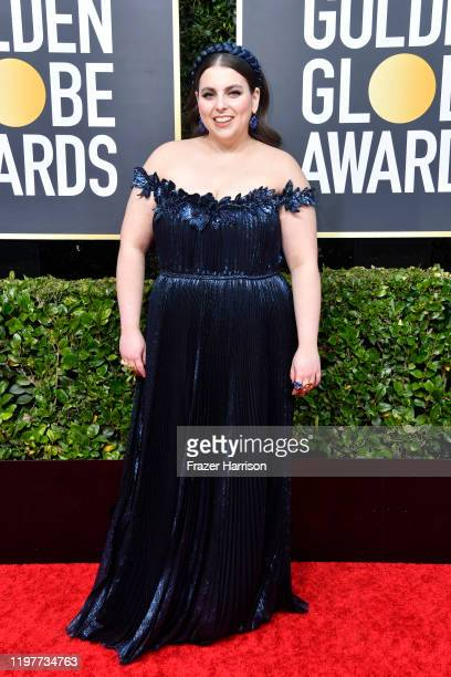 Beanie Feldstein attends the 77th Annual Golden Globe Awards at The Beverly Hilton Hotel on January 05, 2020 in Beverly Hills, California.