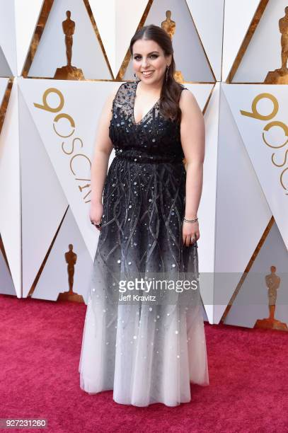 Beanie Feldstein attends the 90th Annual Academy Awards at Hollywood Highland Center on March 4 2018 in Hollywood California