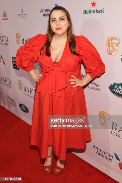 Beanie Feldstein attends The BAFTA Los Angeles Tea Party at Four Seasons Hotel Los Angeles at Beverly Hills on January 04, 2020 in Los Angeles,...