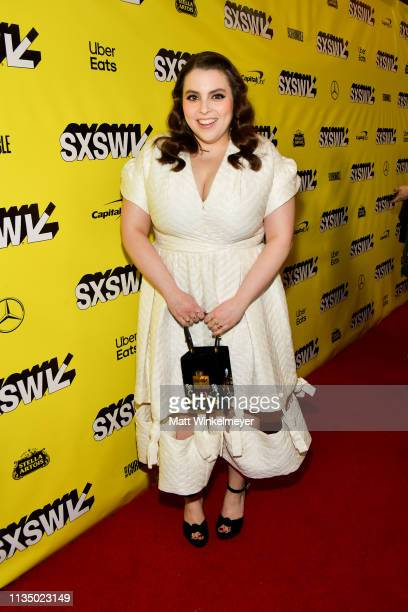 Beanie Feldstein attends the Booksmart Premiere 2019 SXSW Conference and Festivals at Paramount Theatre on March 10 2019 in Austin Texas