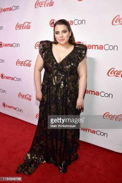 Beanie Feldstein attends The CinemaCon Big Screen Achievement Awards Brought to you by The CocaCola Company at OMNIA Nightclub at Caesars Palace...