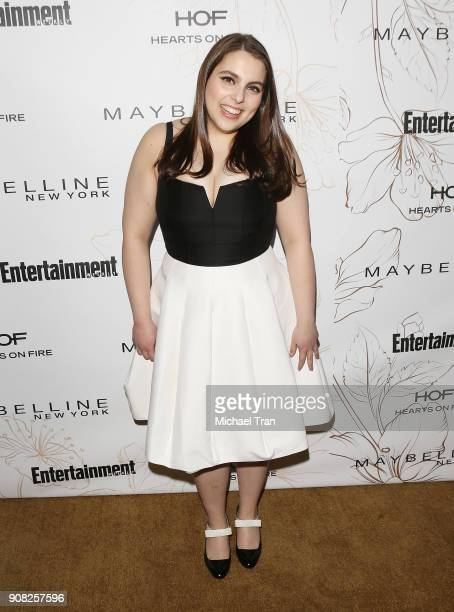 Beanie Feldstein attends the Entertainment Weekly hosts celebration honoring nominees for The Screen Actors Guild Awards held on January 20 2018 in...