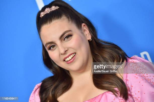 Beanie Feldstein attends the Hollywood Foreign Press Association's Annual Grants Banquet at Regent Beverly Wilshire Hotel on July 31 2019 in Beverly...