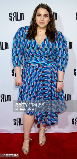 """Beanie Feldstein attends the red carpet premiere at the Castro Theatre of """"Booksmart"""" at the 2019 San Francisco International Film Festival on April..."""