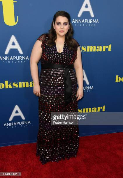 Beanie Feldstein attends the LA special screening of Annapurna Pictures' Booksmart at Ace Hotel on May 13 2019 in Los Angeles California