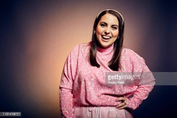 Beanie Feldstein of the film 'Booksmart' poses for a portrait at the 2019 SXSW Film Festival Portrait Studio on March 9 2019 in Austin Texas