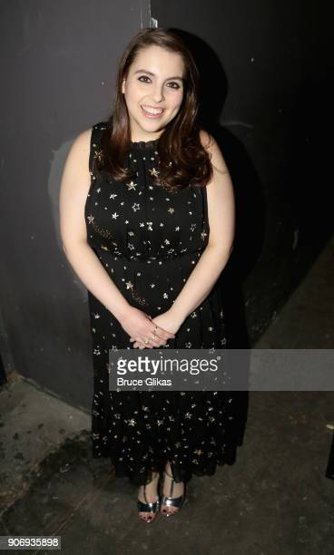 Beanie Feldstein poses backstage at The 33rd Annual Artios Awards given for excellence in casting at Stage 48 on January 18 2018 in New York City
