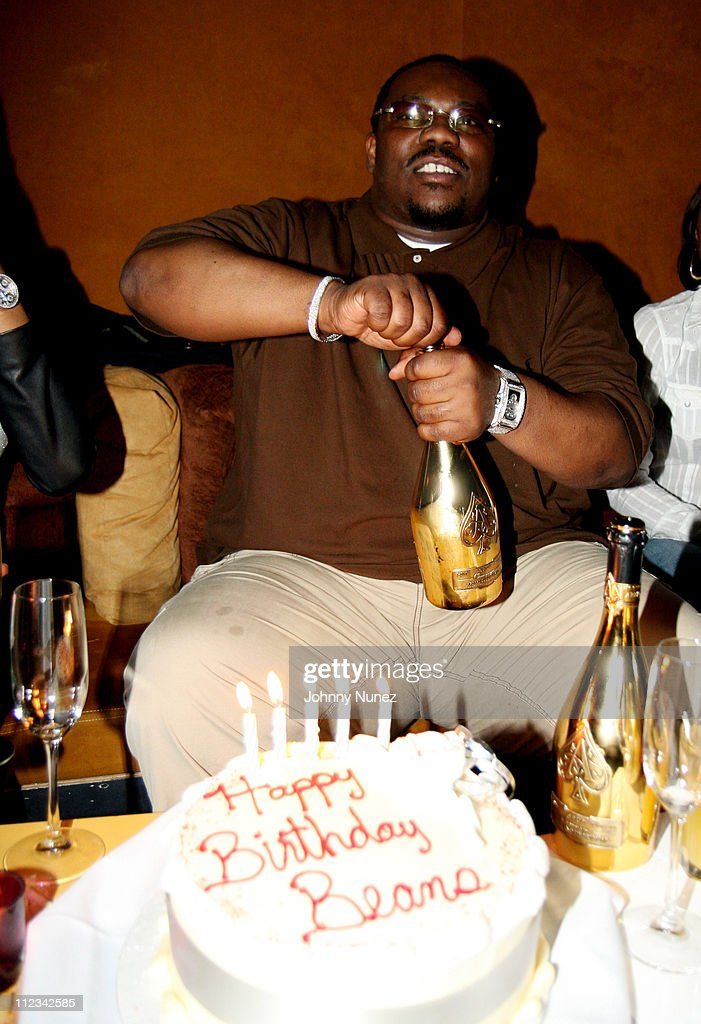 Beanie Sigel during Beanie Sigel's Birthday Party - March 6, 2007 at 40-40 Club in New York City, New York, United States.