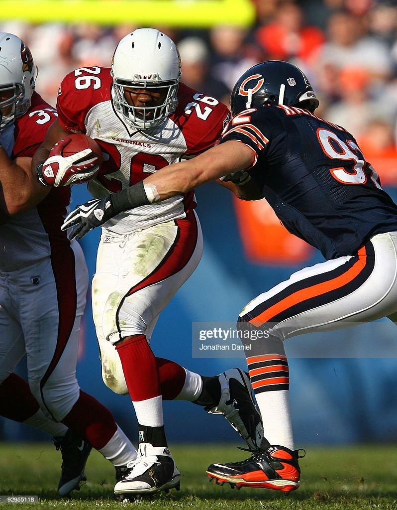 IL: Arizona Cardinals v Chicago Bears : News Photo