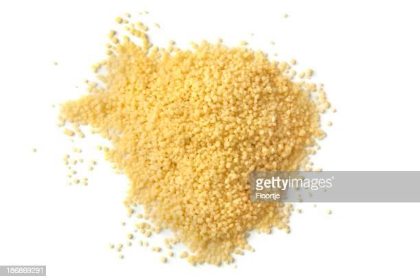 Bohnen und Linsen, Erbsen und Getreide: Kuskus