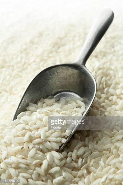 Bohnen und Linsen, Erbsen und Getreide: Risotto
