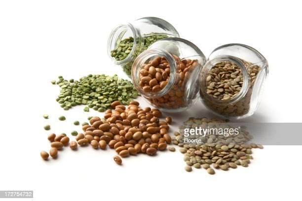 Feijões: Ervilha Seca, Lentilha, Feijão