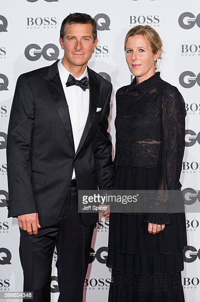 Bear Grylls and Shara Grylls arrive for GQ Men Of The Year Awards 2016 at Tate Modern on September 6 2016 in London England
