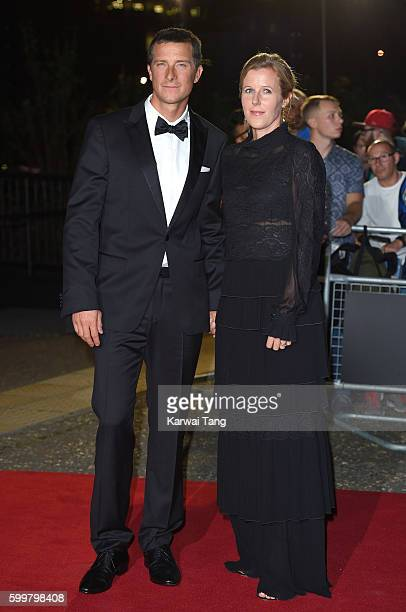 Bear Grylls and Shara Grylls arrive for the GQ Men Of The Year Awards 2016 at Tate Modern on September 6 2016 in London England