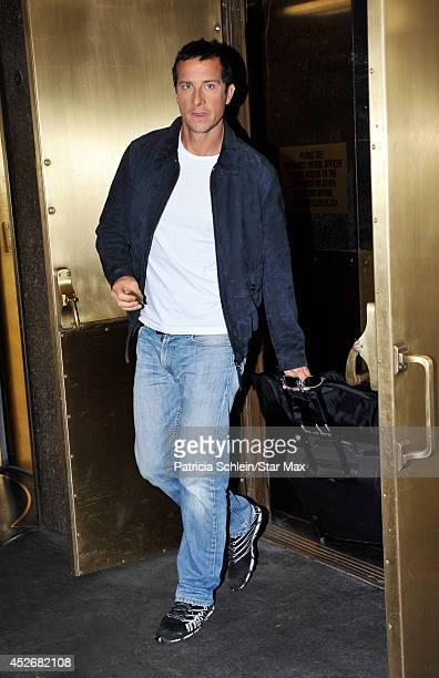 Bear Grylls is seen on July 25 2014 in New York City