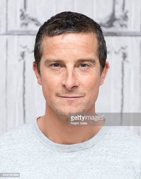 Bear Grylls visits AOL Build to discuss Running Wild With Bear Grylls at AOL Studios In New York on July 11 2016 in New York City