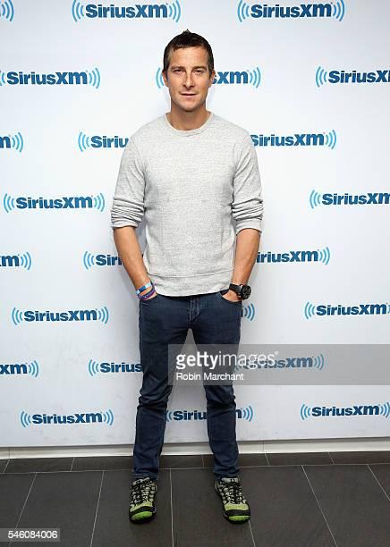 Bear Grylls visits at SiriusXM Studio on July 11 2016 in New York City