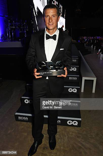 Bear Grylls winner of the TV Personality award attends the GQ Men Of The Year Awards 2016 at the Tate Modern on September 6 2016 in London England