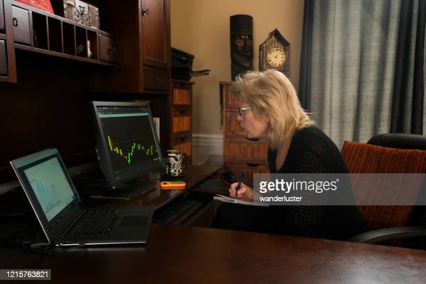 bear market in stock market - bear market stock pictures, royalty-free photos & images