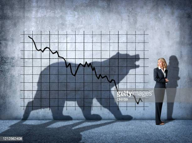 bear market - bear market stock pictures, royalty-free photos & images