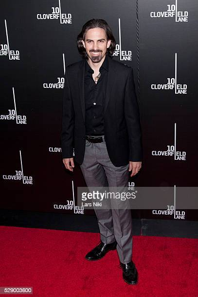 Bear McCreary attends the 10 Cloverfield Lane Premiere at the AMC Loews Lincoln Square 13 in New York City �� LAN