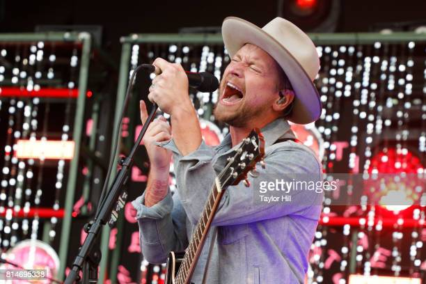 Bear Rinehart of NEEDTOBREATHE performs during the 2017 Forecastle Music Festival at Waterfront Park on July 14, 2017 in Louisville, Kentucky.
