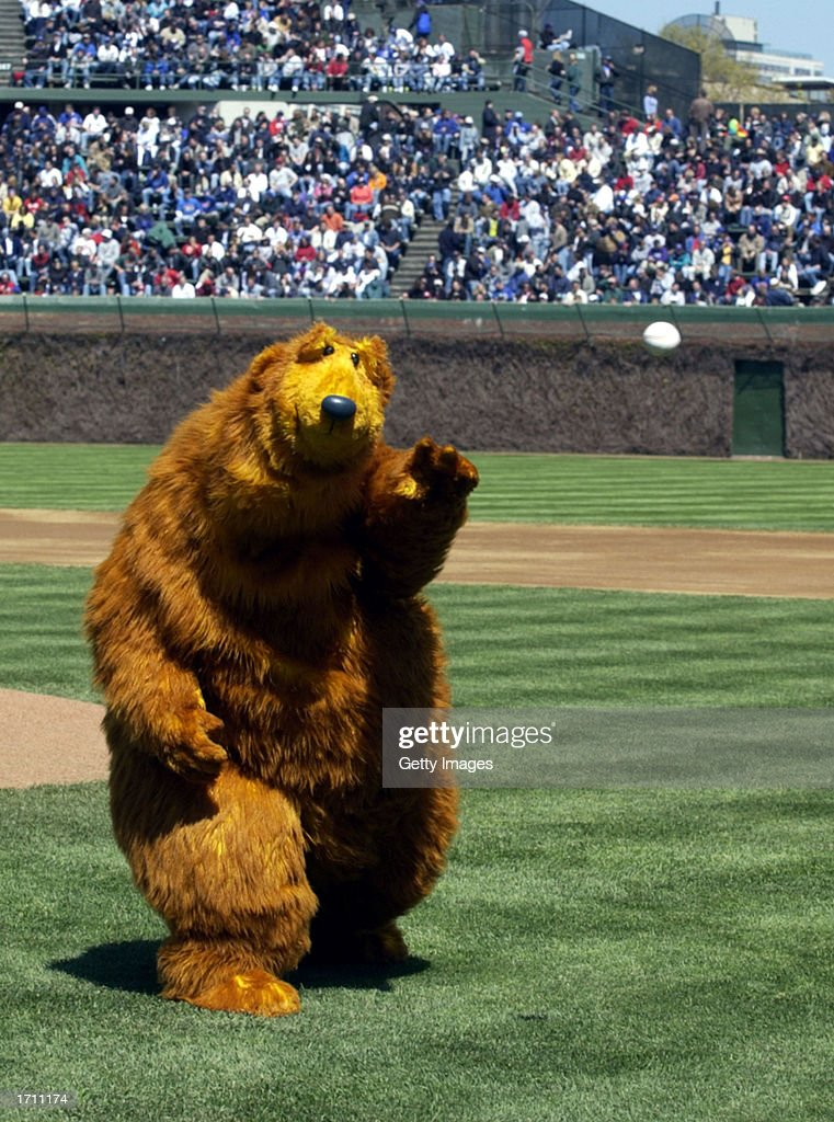 """Bear, the star of """"Jim Henson's Bear in the Big Blue House ..."""