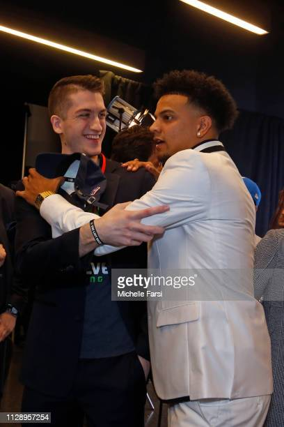 T BearDaBeast of the TWolves Gaming pose for a photo after the NBA 2K League draft on March 5 2019 in Brooklyn New York at the Barclays Center NOTE...