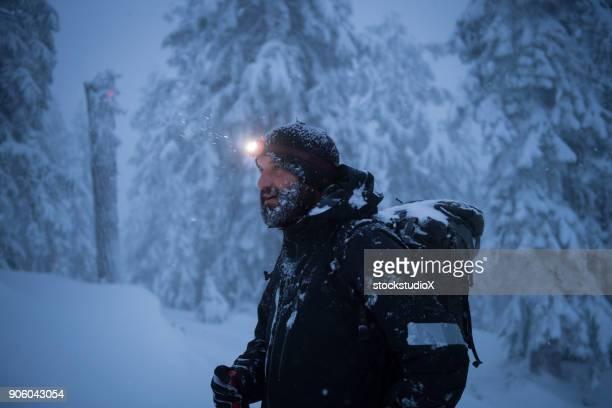 Bearded Mountain Man