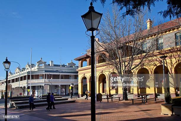 Beardy Mall and Faulkner Street.