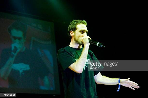 MC Beardyman at UK BBoy Championships 2006 Brixton Academy London UK