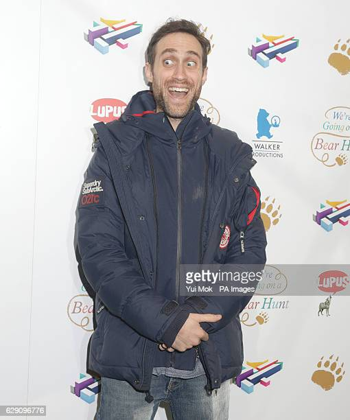 Beardyman attends a screening of We're Going on a Bear Hunt at the Empire Leicester Square in central London
