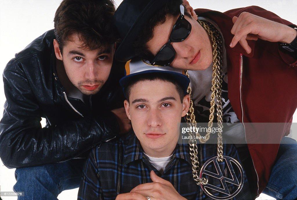 Beastie Boys (L to R) Adam Yauch (MCA), Adam Horovitz (Ad-Rock), Mike Diamond (Mike D).