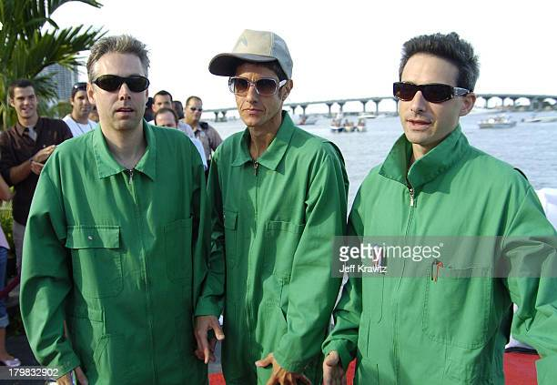 Beastie Boys during 2004 MTV Video Music Awards - Red Carpet at American Airlines Arena in Miami, Florida, United States.