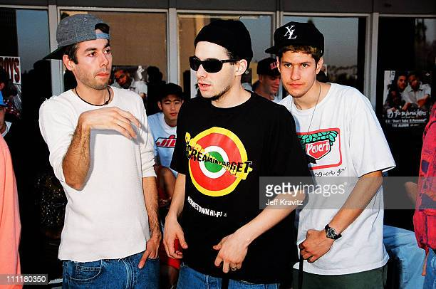 Beastie Boys during Beastie Boys at Capitol Records at Capitol Records in Hollywood California United States