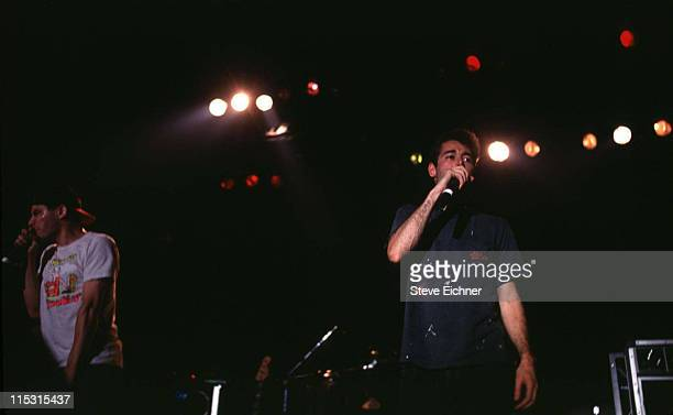 Beastie Boys during Beastie Boys in Concert at Roseland Ballroom 1992 at Roseland Ballroom in New York New York United States
