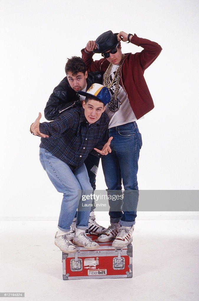 Beastie Boys, from (L to R) Adam Horovitz (Ad-Rock), Adam Yauch (MCA), Mike Diamond (Mike D).