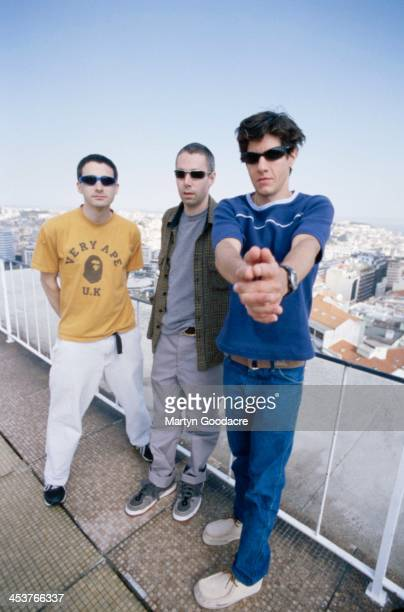 Adam 'AdRock' Horovitz Adam Yauch Mike D Portugal 1998