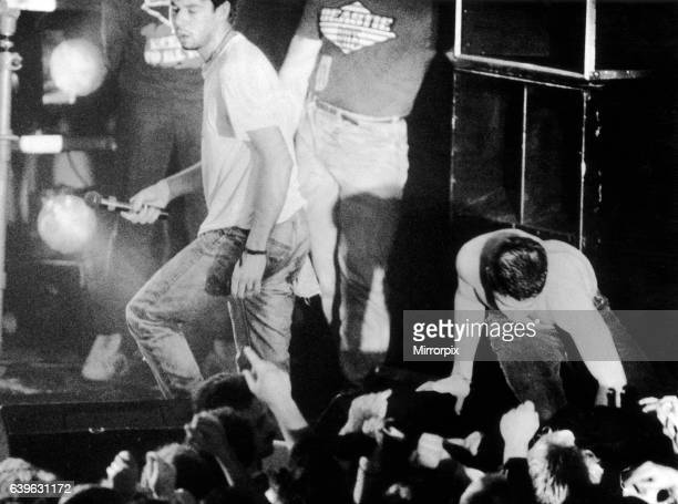 Beastie Boys in concert at the Barrowland Ballroom Glasgow Scotland Friday 29th May 1987