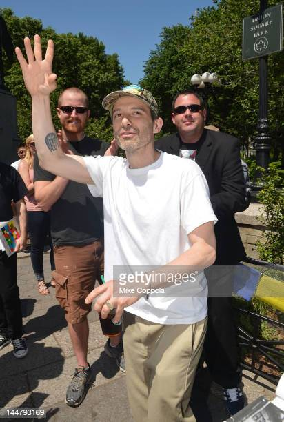 Beastie Boys member Adam 'AdRock' Horovitz attends MCA Day NYC a celebration of Adam Yauch in Union Square on May 19 2012 in New York City Yauch...