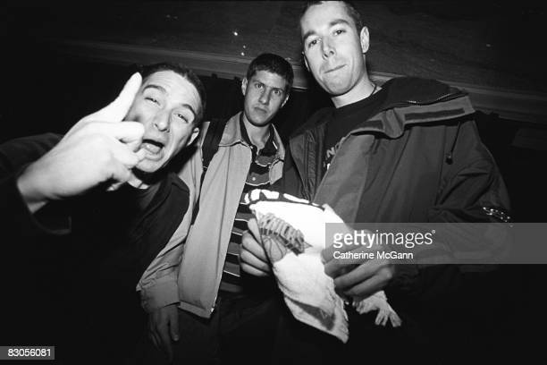 Beastie Boys pose for a portrait on May 27 1994 in New York City New York