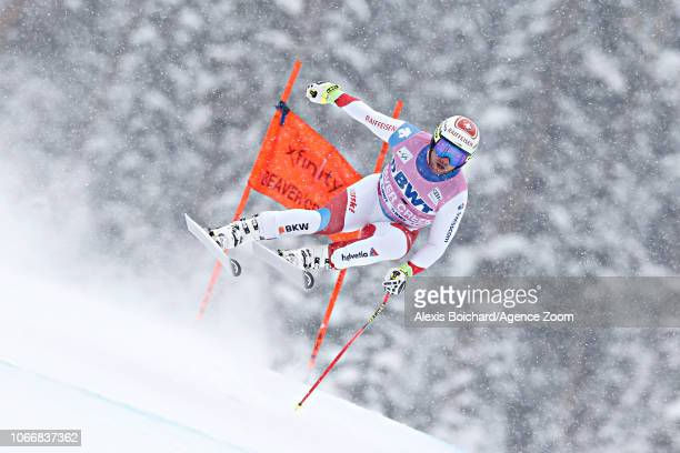 Beat Feuz of Switzerland competes during the Audi FIS Alpine Ski World Cup Men's Downhill on November 30 2018 in Beaver Creek USA