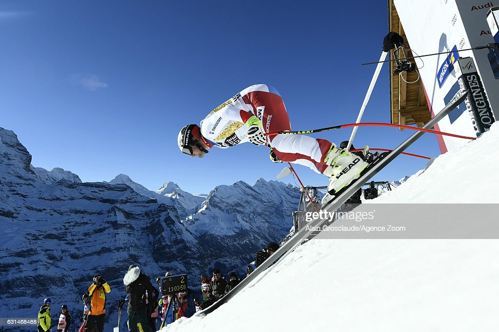 Audi FIS Alpine Ski World Cup - Men's Downhill Training : Foto di attualità