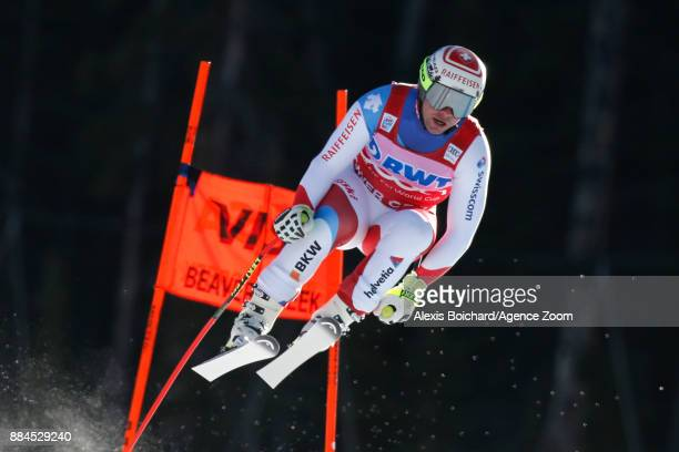 Beat Feuz of Switzerland competes during the Audi FIS Alpine Ski World Cup Men's Downhill on December 2 2017 in Beaver Creek Colorado