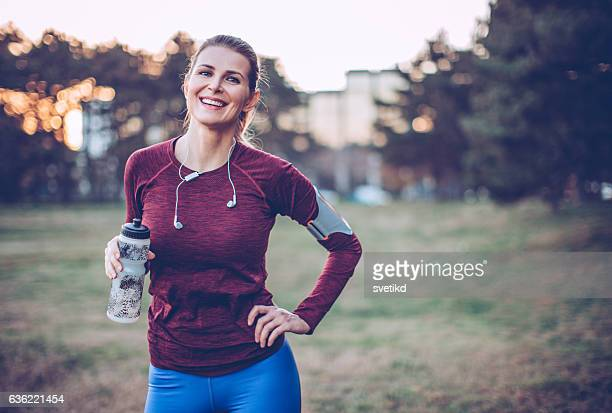 i beat my best! - sportswear stock pictures, royalty-free photos & images