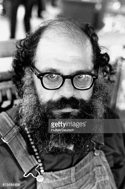 Beat poet and counterculture guru Allen Ginsberg at age 47 His poem 'Howl' with its rejection of American society's callousness and materialism...